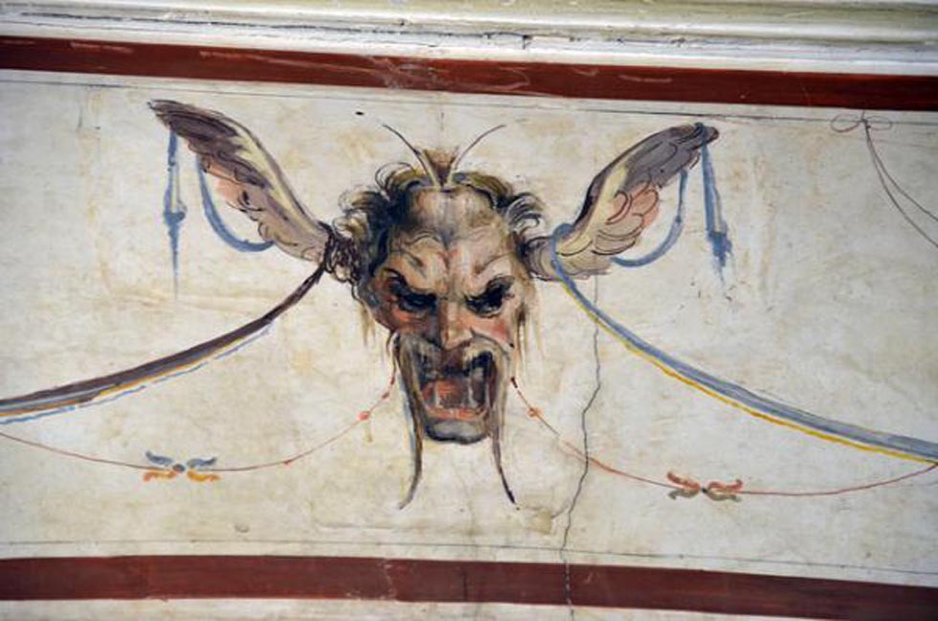 """Mascherone"" at Palazzo Vecchio (Florence)"