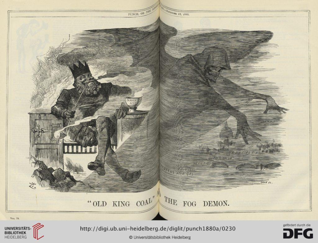 Punch 1880 King Coal