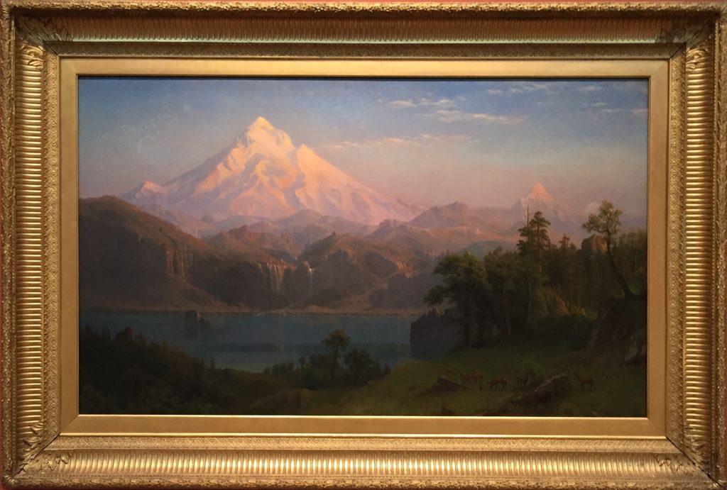Albert Bierstadt, Mount Hood (1869)